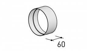 Berbel Rundrohren-System 125, Muffe